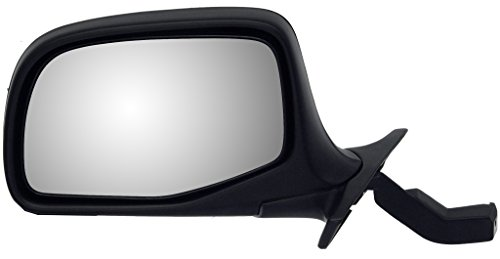 Mirror Drivers Side Chrome Manual - Dorman 955-227 Manual Black and Chrome Replacement Driver Side Mirror