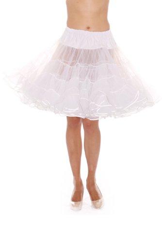 Dance Petticoat Pettiskirt Underskirt Tutu Crinoline by Malco Modes White