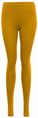 Mme 3xl Islander Stitcy Pure Viscose Pantalon Femmes Legging Le Longueur Moutarde Unicolore Pantaln Tamao Fashions S UxUB6q8