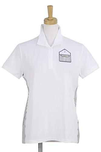 ポロシャツ レディース ピッコーネクラブ PICONE CLUB ゴルフウェア c859315 LL(03) ホワイト(090) B07S9JD8W9