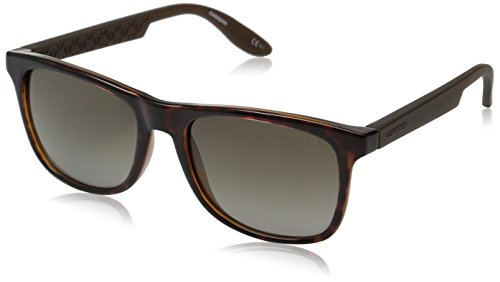 Carrera CA5025S Wayfarer Sunglasses, Havana Brown & Brown Gradient, 54 - Mens Havana Sunglasses Brown Carrera