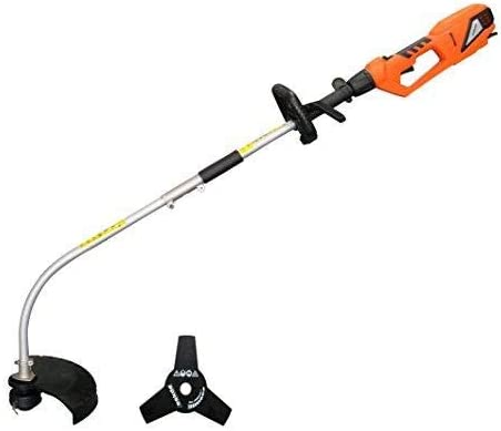 eSkde ESBC2 Electric Strimmer and Brush Cutter Kit, 900 W, 240 V, Orange and Grey