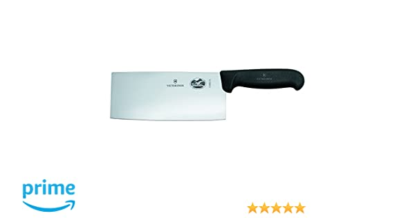 Victorinox Küche und Chinese Chefs Knife Chinesisches Chefmesser Cuchillo, Negro, Mediano