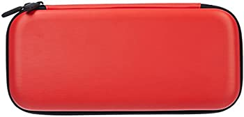 AmazonBasics Carrying Case for Nintendo Switch (Red)