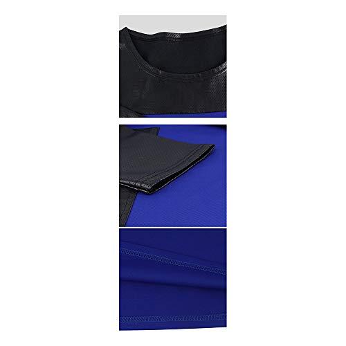 pour Blue Color Cuir Red Femme L Ddpvopd en Size Pochette xf4StwY