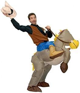 Disfraz de vaquero caballo hinchable: Amazon.es: Juguetes y juegos