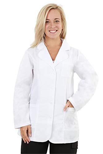 MAZEL UNIFORMS Womens 30 INCH Short LAB Coat (3X ()