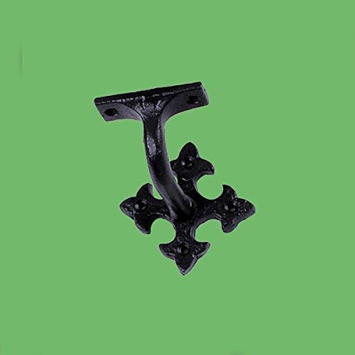 [해외]계단 핸드 레일 브래킷 블랙 캐스트 | /Stair Hand Rail Bracket Black Cast | Renovator`s Supply