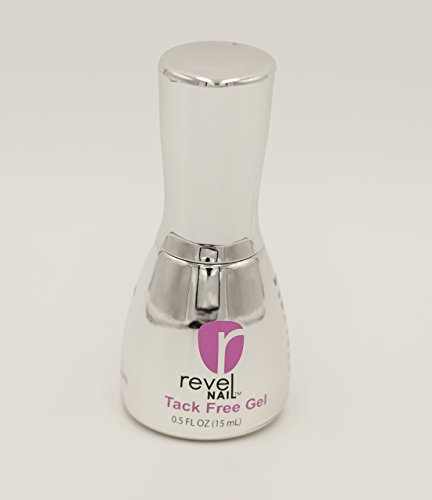 Revel Nail Tack Free Gel Top for Dip Powder 0.5 oz by Revel
