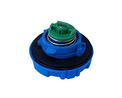 40mm Tankdeckel ABS Blau Tankverschluss Abschlie/ßbar Tankschlo/ß LKW PKW KFZ Car Auto