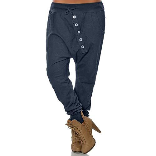 Harem Gran Liso Pantalones Hop De En Harén Color Holgados Bloom Beautyjourney Mujer Pantalone Tamaño Casuales Hip bf76yYg
