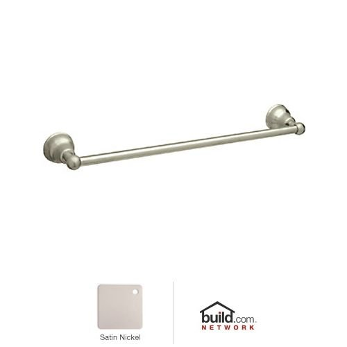 Rohl CIS1/24STN 24-Inch Single Towel Bar in Satin (Cisal Towel Bar)