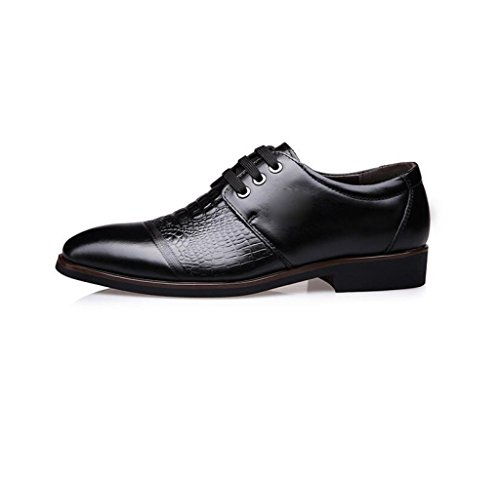 Soft Estate A Round Inverno Sport Black Colore Primavera da Canvas Casual Business Punta Uomo Ribbon Autunno Scarpe zmlsc 7XqwFf