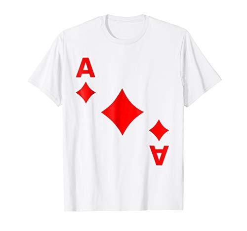 Ace Diamonds Deck Of Cards Halloween Costume Matching -