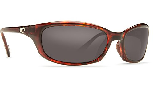 Costa Del Mar Harpoon Polarized Sunglasses Tortoise Frame Gray