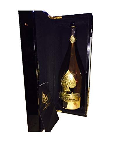 Armand de Brignac ACE of Spades 750ML Champagne Bottle-CASE-KOZZIE Combo - Champagne Ml Bottle 750