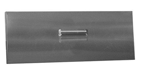 Firegear Brushed Stainless Steel Burner Cover for Line of Fire Burner (LID-LOF36), 36-inch