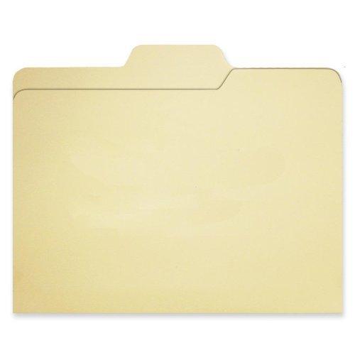 Find It File Folders, 1/3 Cut, 11 Point Stock, Letter Size, Manila, 80/Pack (FT07046) (Renewed)