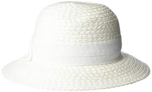 Vince Camuto Women's Woven Paper Straw Cloche Hat