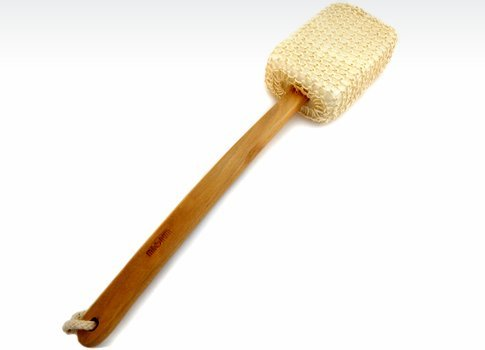 MAGNUM Bath Sponge - Shower Brush with Natural Sisal and Long Wooden Handle DSB Ltd.