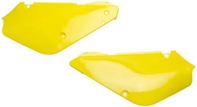 Polisport Side Panels 01 RM Yellow for Suzuki RM85 2002-2009