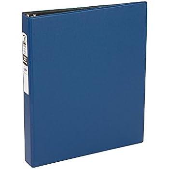 "Avery Economy Binder, 1"" Round Rings, 175-Sheet Capacity, Blue, 1/EA (03300)"