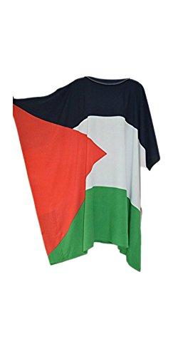 Caftans Palestine Gaza Blouse T-Shirt Haut Pour Femmes Hommes Cool Modèle et Imprimé De Qualité