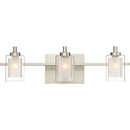 Quoizel KLT8603BNLED Three Light Bath Fixture by Quoizel