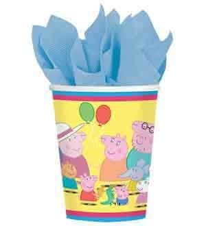 Peppa Pig Cup 9oz 8ct [Contains 6 Manufacturer Retail Unit(s) Per Amazon Combined Package Sales Unit] - SKU# 581499