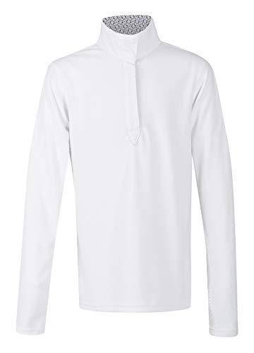 Kerrits Kids Spectrum Show Shirt Longsleeve White Size: M