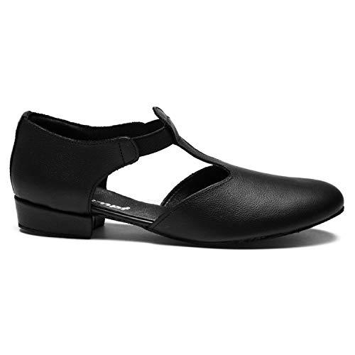 Ladies 1312 Dance Childs Shoes Noir 5zXwqUPw