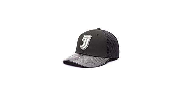 Fi Collection Juventus Black Stretch Baseball Hat