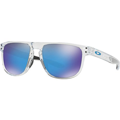 Oakley Men's Holbrook R Non-Polarized Iridium Square Sunglasses, Clear, 55.0 - Clear Holbrook