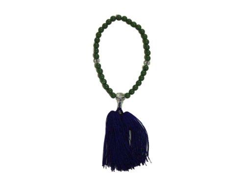 Ojuzu Buddhist Prayer Beads, Jade - Beads Prayer Jade Made