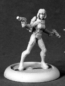 Reaper Miniatures 50227 Chrono Dee Dee Astro Girl