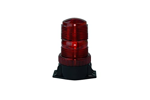 Signaworks LED Strobe Light,10-110 VDC, Burst Flash, Fork Lift Truck or Indistrial Signal (Red)