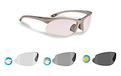 cdff8ac93f Image Unavailable. Image not available for. Color  Bertoni Sports Photochromic  Sunglasses for Cycling ...