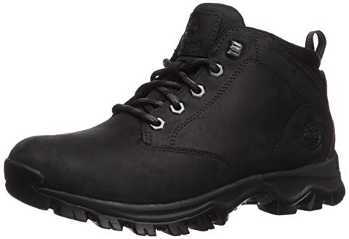 Timberland Men's Mt. Maddsen Waterproof Chukka Boot, Black Full Grain, 100M M US