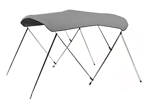 Best Choice Products SKY1161 6' 600D UV Waterproof Top 3 Bow Bimini Boat Cover with Storage Case (Top Products)