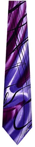 JG-XL-6217 - Jerry Garcia Extra Long Polyester XL Big and Tall Designer Necktie Ties (Jerry Garcia Extra Long Ties)