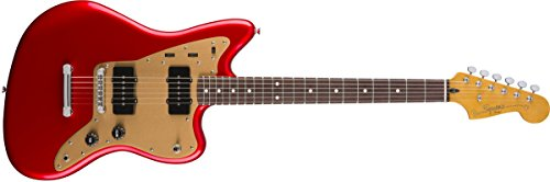 Squier by Fender Deluxe Jazzmaster Stop-Tail - Candy Apple Red