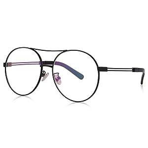 MERRY'S Men/Women Fashion Alloy Glasses Round Clear Optical Frames Eyeglasses S2067