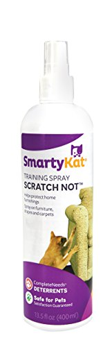 SmartyKat Scratch Not Anti-Scratch Training Spray Scratch Deterrent (Furniture Dining Bargain)