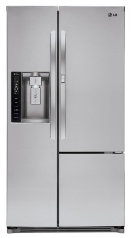 LG LSXS26366S26.0 Cu. Ft. Stainless Steel Side-By-Side Refrigerator - Energy Star ()