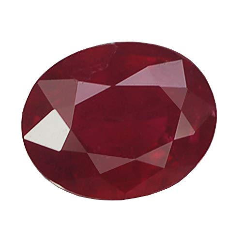 (Ploythai 1.44CT CHARMING AA OVAL HEATED ONLY PIGEON BLOOD RED RUBY NATURAL)