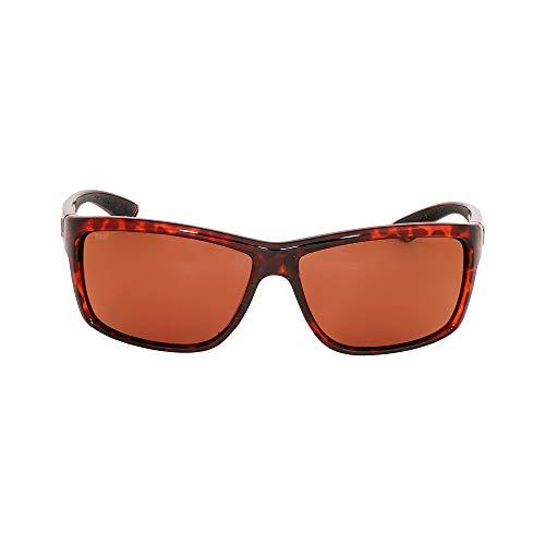 Costa Del Mar Mag Bay Sunglasses, Tortoise, Copper 580P ()