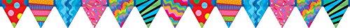 (Creative Teaching Press Poppin' Patterns Pennant Border (7142))