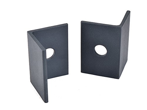 Black Sliding Up to 800LB Barn Commercial Door Stop Hardware Replacement Part