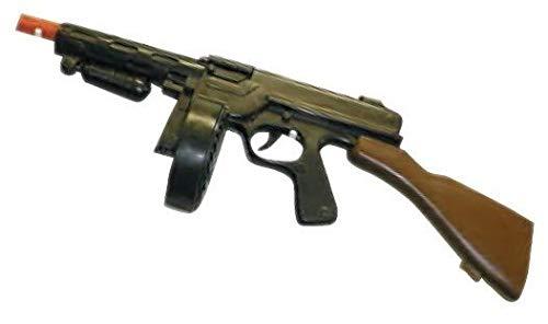 Unbranded Plastic 20 Inch Gangster Gun Toy Machine Gun 18183 Thompson]()