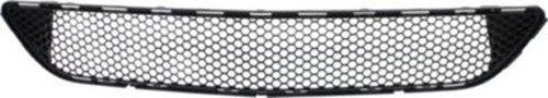 CPP Center Textured Black Bumper Grille for Mercedes-Benz C230, C250, C300, C350